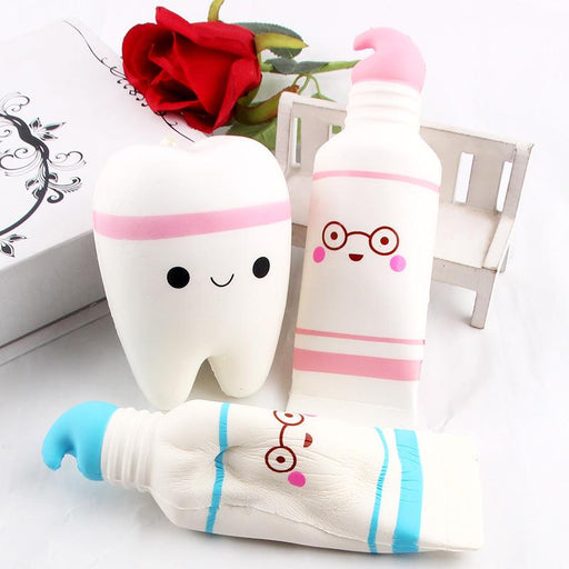 Silly Squishy - Imitation pu toothpaste Squishy