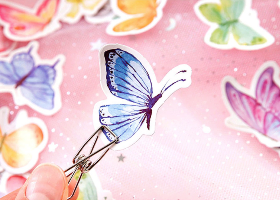 Butterfly Garden Paper Stickers