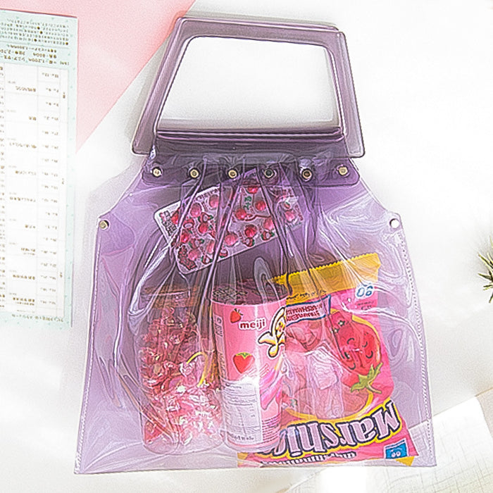 Neon moon harajuku handbag carries a bag in a solid colour