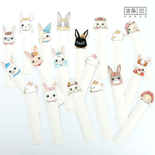 Kawaii Japanese Rabbit Bookmark - 30 PCS
