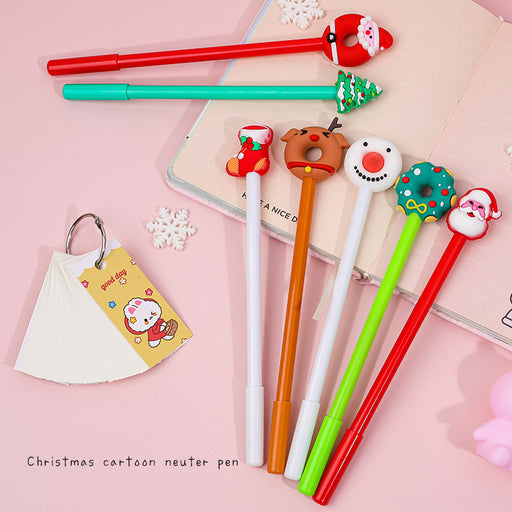 Kawaii Japanese Korean Cartoon Santa Pen