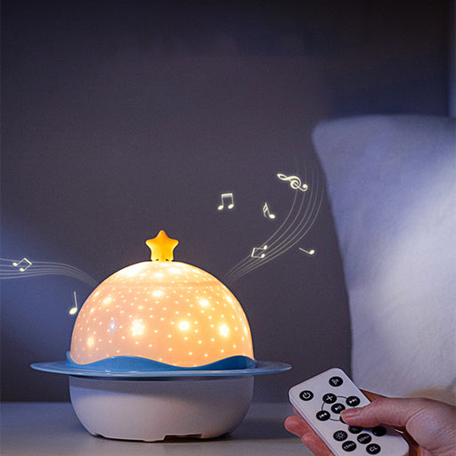 Earth Starry Sky Projector Bluetooth Music Box Led Light