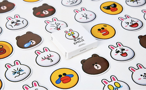 Kawaii  Japanese  Korean Kakao Brown Bear Sticker