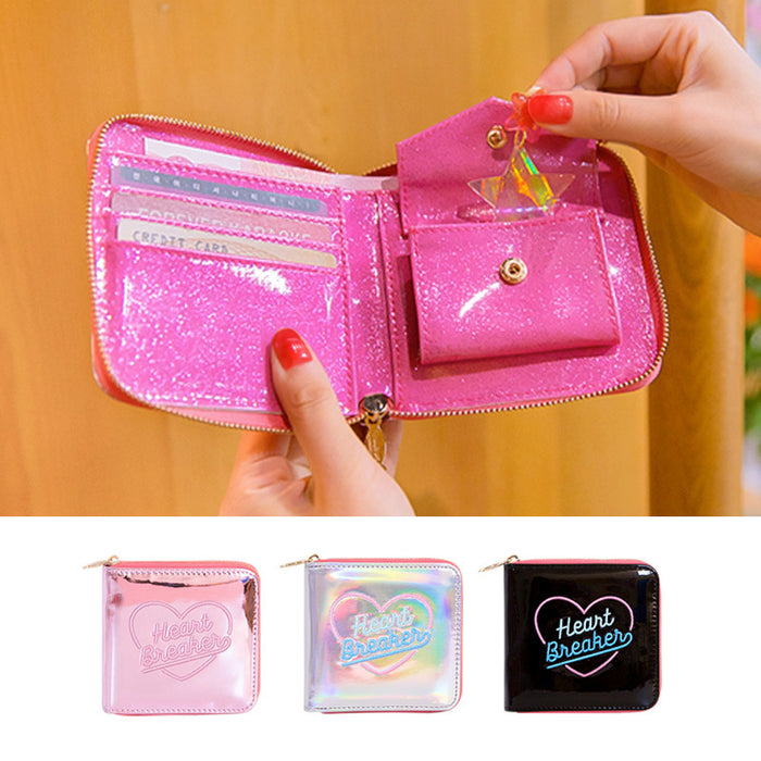 Kawaii Korean Japanese Bentoy Hypnotic Ladies Zipper Wallet