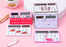 Kawaii  Japanese  Korean Cute Girly Heart Mini Card Small Solar Calculator