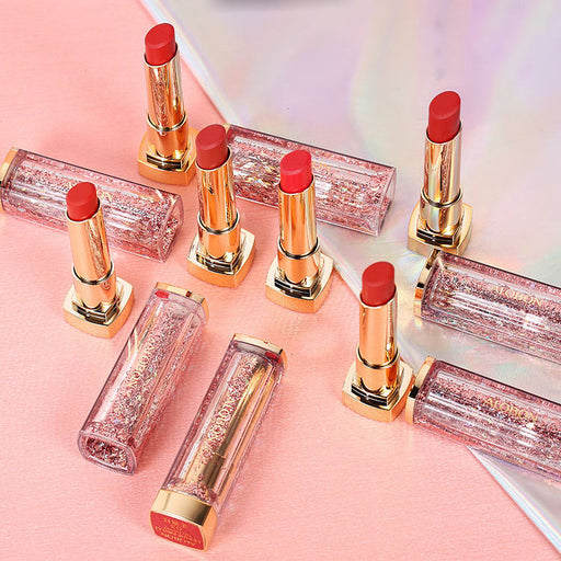 Kawaii  Japanese  Korean  Quicksand lipstick lasting moisturizing non-marking waterproof non-stick lipstick