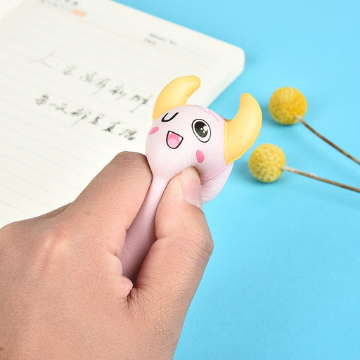 Kawaii  Japanese  Korean squishy soft and decompression slow rebound gel pen