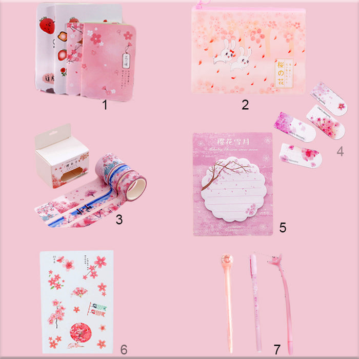Kawaii  Japanese  Korean  Sakura series gift box