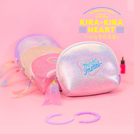 Mantianxing shell bag girl heart ins style embroidery hand bag original sufeng makeup bag