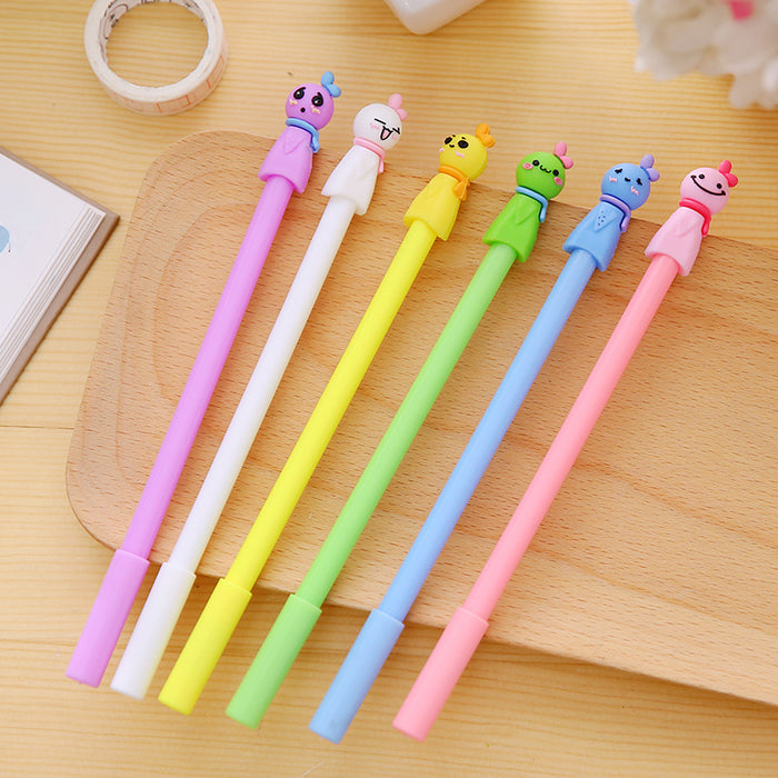 Kawaii  Japanese  Korean  Sunny Doll Cartoon Gel Pen