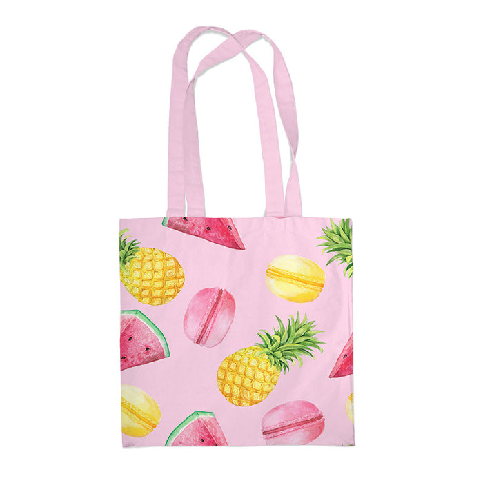 Kawaii Japanese Korean Fruit Pineapple Watermelon Eco-friendly Casual Canvas