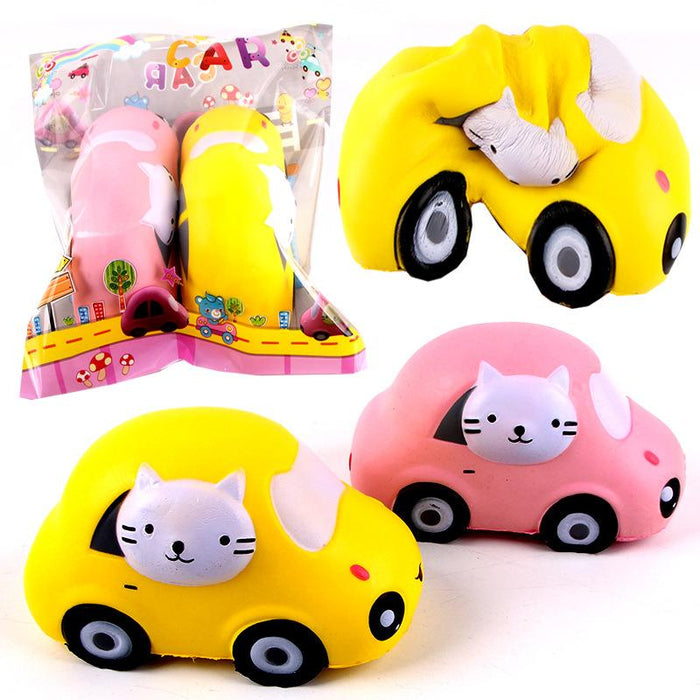 Silly Squishy - Car cat pu slow bounce Squishy