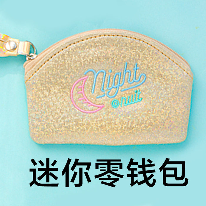 Kawaii Korean Japanese Bentoy Starry Mini Coin Wind Girl Coin Wallet