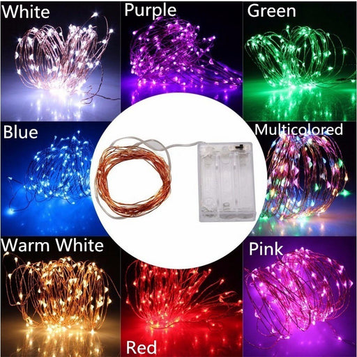 Kawaii Japanese Korean LED lantern sky full of stars lights copper wire lights firefly lights