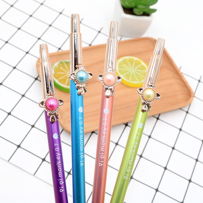Kawaii  Japanese  Korean  Cute Japanese and Korean jewelry candy color pressable pencil