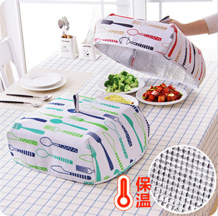 Aesthetic Foldable Cover Insulation Cover Aluminum Foil Food Cover