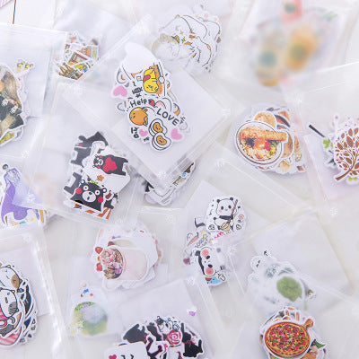 Kawaii  Japanese  Korean  Cartoon animal food emoji stickers