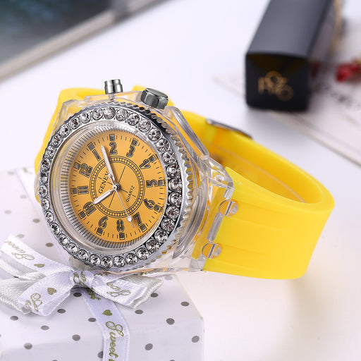 Kawaii  Japanese  Korean Luminous Diamond Luminous Watch