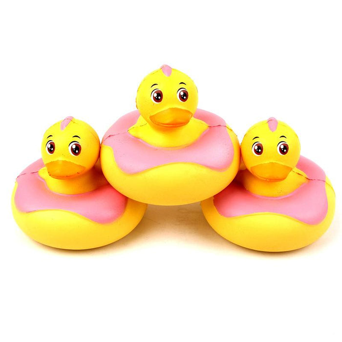 Silly Squishy - Pu duck slow bounce donut Squishy