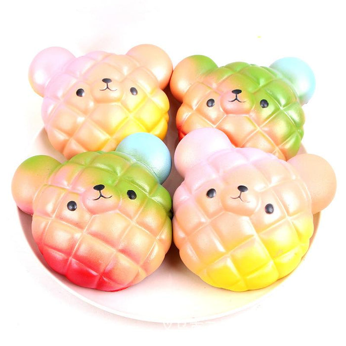 Silly Squishy - Pu imitation bear biscuits Squishy