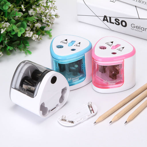 Kawaii  Japanese  Korean -Fine art painting electric pencil sharpener