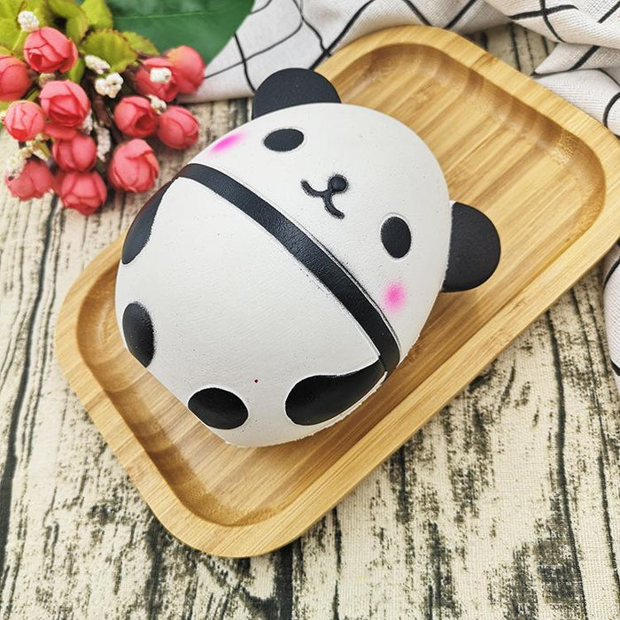 Silly Squishy - Panda egg pu slow rebound doll doll unique relief toys