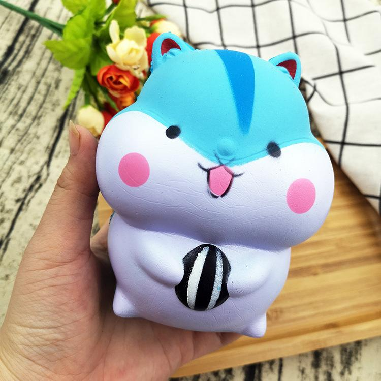 Silly Squishy - Slow rebound PU imitation bread animal hamster children's stress relief toys