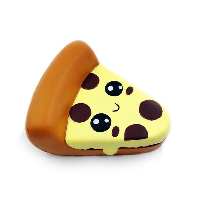 Silly Squishy - New emojis pizza slow bounce PU decompression toy