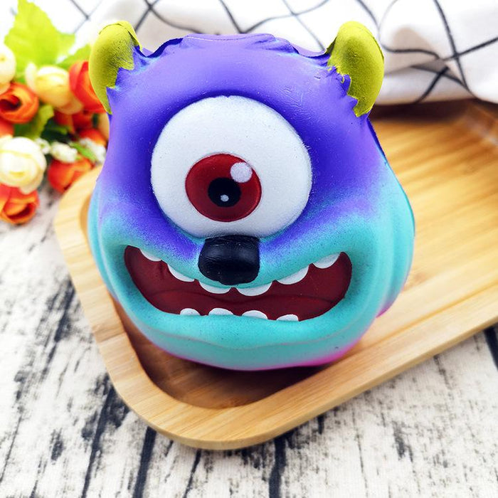 Silly Squishy - PU slow rebound decompression toy one-eyed monster squishy