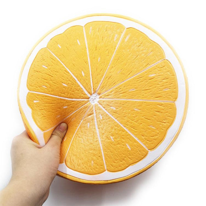 Silly Squishy - Super big orange orange fruit slowly bounces back