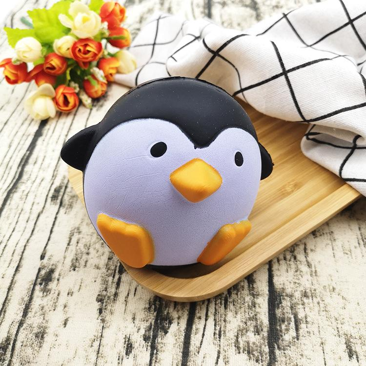 Silly Squishy - Pu imitation Antarctic penguin weird cartoon penguin male decompression toys
