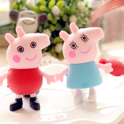 Kawaii  Japanese  Korean  Cartoons Peppa Pig Eraser
