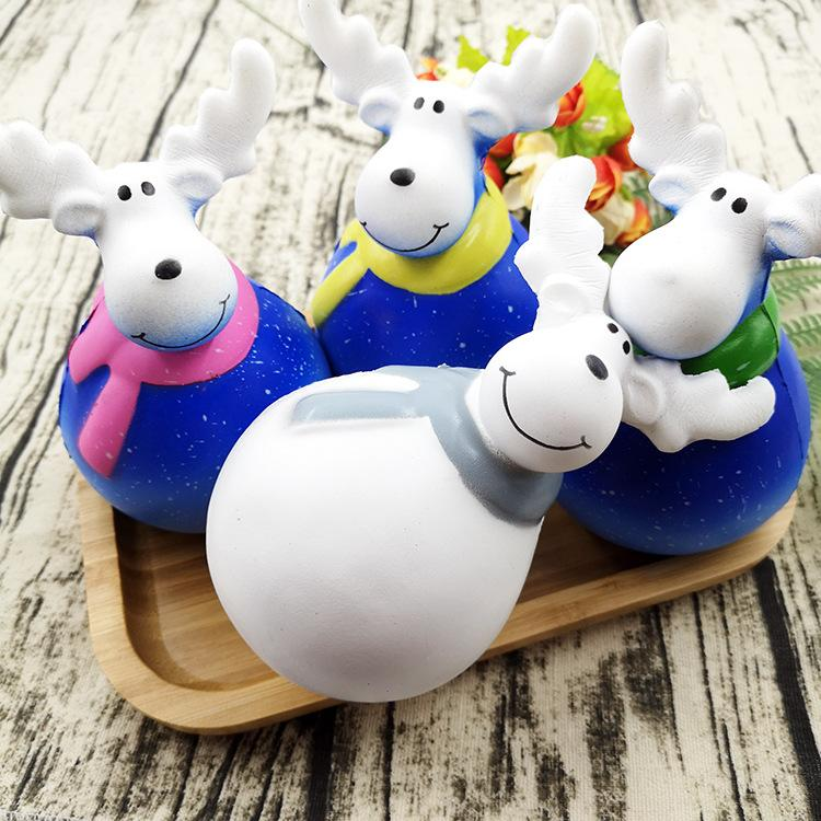 Silly Squishy - Moose slow rebound to release novelty unpack squishy toys