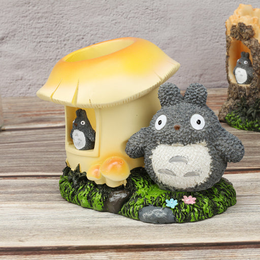Large Grocery Totoro Cartoon Stationery Student's Desktop Ornaments Pen Holder