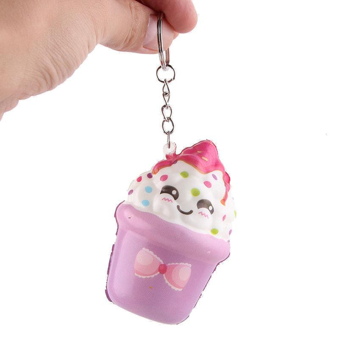 Silly Squishy - Kawaii Korean Japanese Long cake holiday promotion gift vibrato toy Squishy