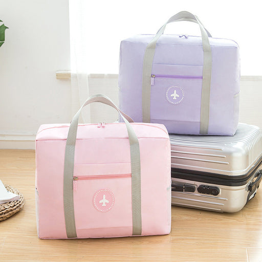 Japanese-Style Portable Travel Storage Trolley Bag