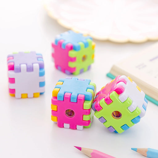 Kawaii Korean Japanese Magic Cube Creative Girly Pencil Sharpener