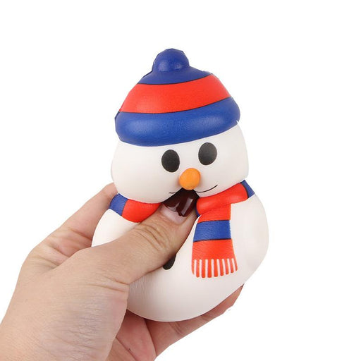 Silly Squishy - Slow rebound snow man pu Christmas simulation Squishy
