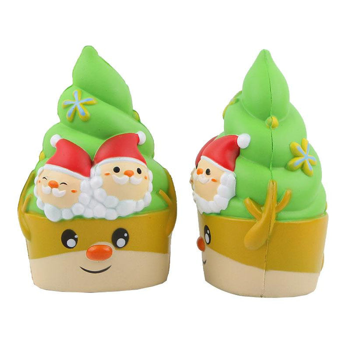 Silly Squishy - Kawaii Korean Japanese Christmas Ice Cream Slow Rebound Toys Crafts Squishy
