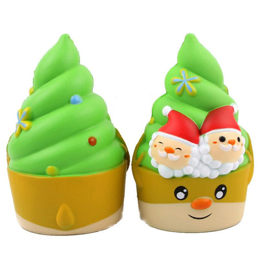Silly Squishy - Kawaii Korean Japanese Slow Rebound Christmas Ice Cream Squishy