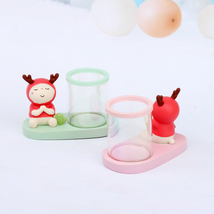 Grocery Creative Home Decoration Exquisite Anime Gift Stationery Lu Xiansen Student Gift Pen Holder