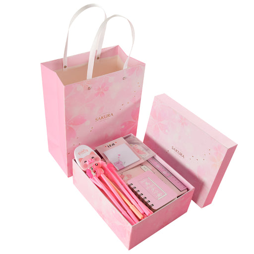 Kawaii  Japanese  Korean  Sakura Maiden Heart Stationery Set Gift Box