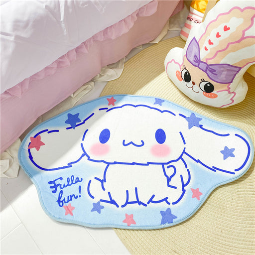 Girly Heart Cute Cartoon Melody Big Ear Dog Anti-slip Mat