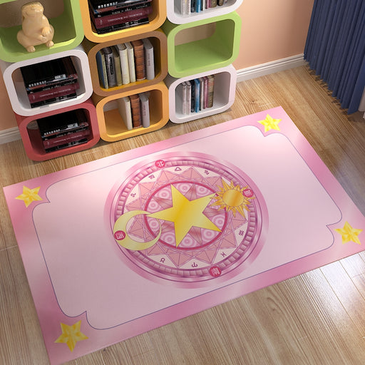 Variety Sakura Magic Card Magic Array Rectangular Carpet