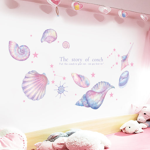 Dream Conch Room Decoration Background Wall Sticker