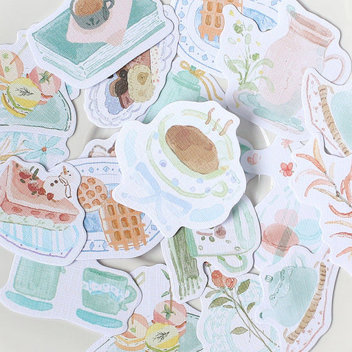 Aesthetic Cardlover  Noon Encounter Time Fresh Art Diy Stickers