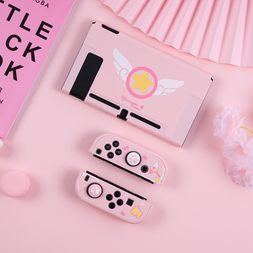 Switch Magical Girl Sakura Color Case
