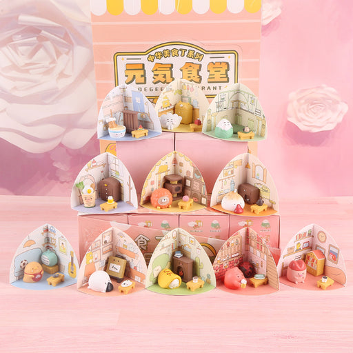 Yuanqi Canteen Food Blind Box Doll