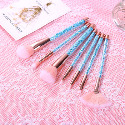 Kawaii  Japanese  Korean  -Quicksand Girl Heart Makeup Brush