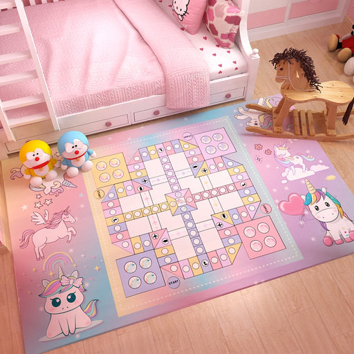 Flying Chess Piece Cartoon Cartoon Bedroom Carpet